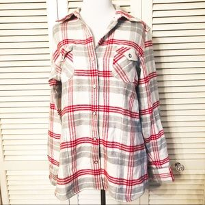 Natural Reflections   Soft Plaid Flannel Shirt